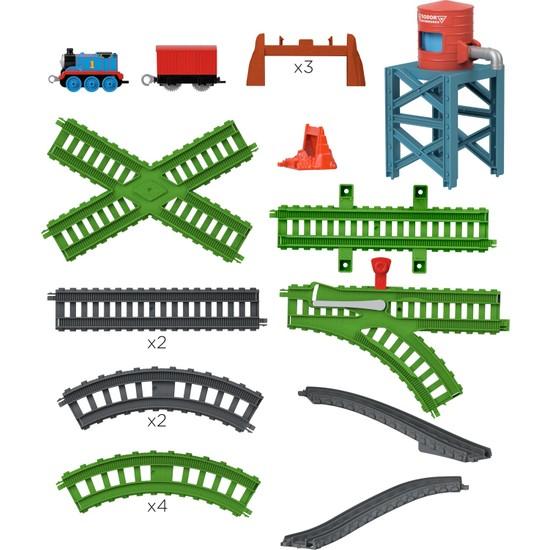 Thomas ve Arkadaşları - Buhar İstasyonu Seti (Sür-Bırak Trenli) GXD47