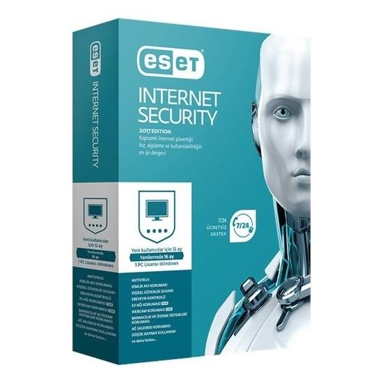 Eset Internet Securıty 10 Kullanıcı 1 Yıl