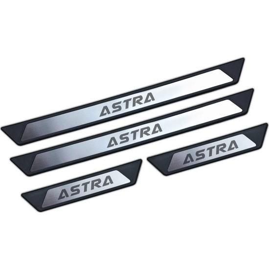 KromGaraj Opel Astra J Krom Kapı Eşik Koruması Nulo 2009-2012 4 Parça