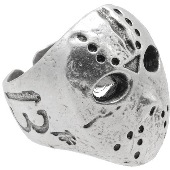 Labalaba Erkek Antik Gümüş Kaplama Ayarlanabilir Yüzük