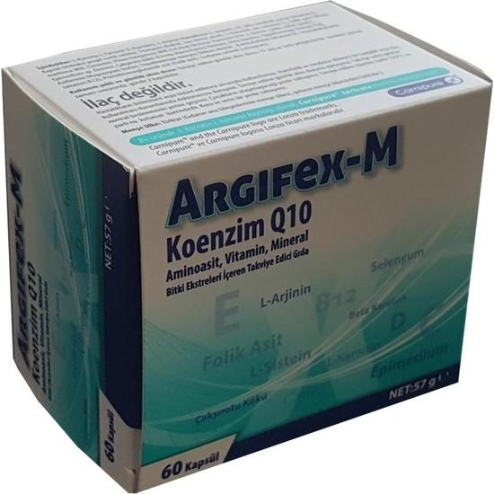 Argifex-M Coenzym Q10 60 Kapsül