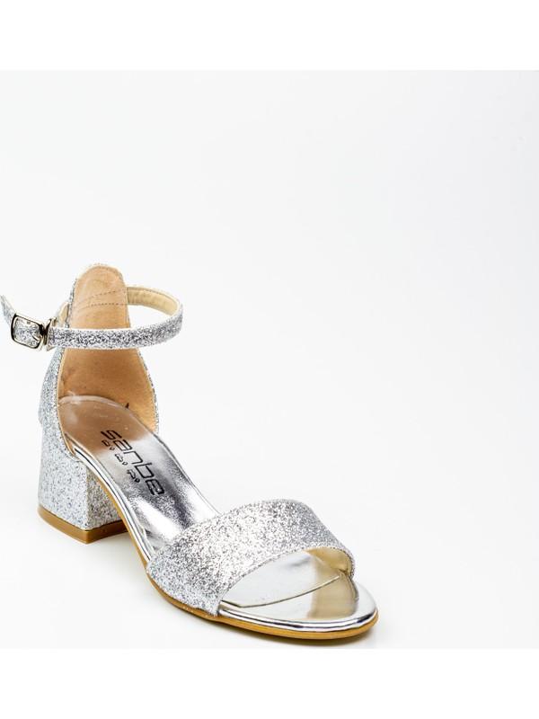 Sanbe 415 T 713 Lame Kız Çocuk Abiye Ayakkabı