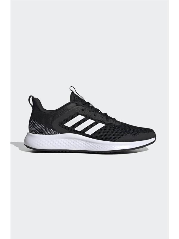 adidas FW1703 Adidas Fluıdstreet Erkek Spor Ayakkabı Cblack/ftwwht