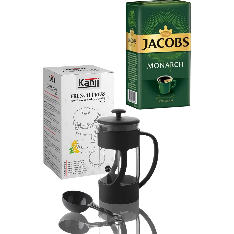 Jacobs Monarch 500 gr Filtre Kahve + 350 ml Kanji French Fiyatı