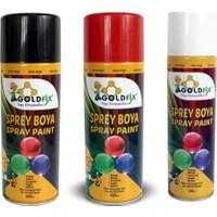 Goldfix Sprey Boya Siyah 200ML