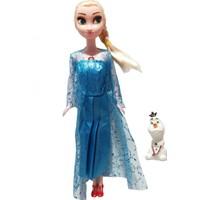Frozen Sesli Müzikli Elsa ve Olaf Figür Oyuncak