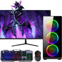 Dragos DRx398 Intel Core i5 9400f 8GB Ram 240GB Ssd 1TB Hdd 4GB GTX1650 Freedos 23.8'' Mon. Oyun Bilgisayarı