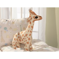 English Home Mini Giraffe Dekoratif Yastık 40 x 20 cm Bej