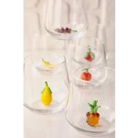 Mozaikturk Meyve Figürlü 6lı Su Bardağı Seti