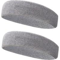 Kogam 2 Adet Sporcu Havlu Kafa Bandı Alın Ter Bandı Headband