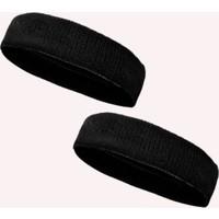 2 Adet Sporcu Havlu Kafa Bandı Alın Ter Bandı Headband