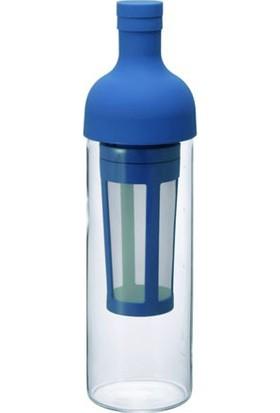 Hario Soğuk Demleme Filtreli Şişe Mavi