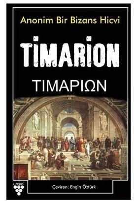 Timarion - Anonim Bir Bizans Hicvi