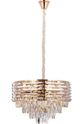 Koint Lighting Ibiza 50 cm Kristal Sarkıt Avize