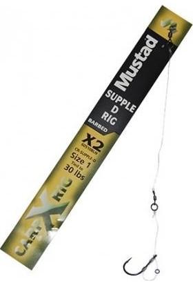 Mustad Stiff D Rig Barred X2 30 Lbs Hazır Rig Takımı