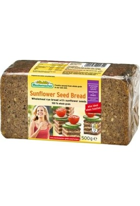 Mestemacher Ayçekirdekli Çavdarlı Tam Tahıllı Alman Ekmeği 500 gr