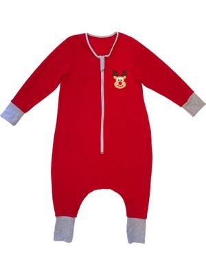 Yorni, Nakışlı, Uzun Kollu, Oeko-Tex Mikro Polar, Bebek Çocuk Uyku Tulumu, Unisex, Tog 2
