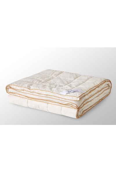Soft Cotton Yün Yorgan Krem 195*215 cm