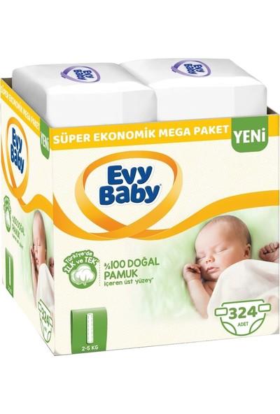 Evy Baby Bebek Bezi Beden:1 2-5 kg Yeni Doğan 324'LÜ