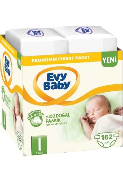 Evy Baby Bebek Bezi Beden:1 2-5 kg Yeni Doğan 162'LI