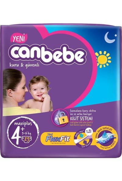 Canbebe Bebek Bezi Beden:4+ (9-16KG) Maxi Plus 69'lu Jumbo Aylık Fırsat Paketi