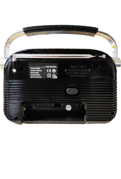 Mkey RDL-4643BT Bluetoothlu Ahşap Nostaljik Radyo