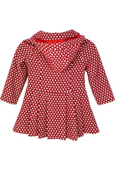 Bigazzi Bugi Kız Kalpli Bebe Manto 2419-143-08