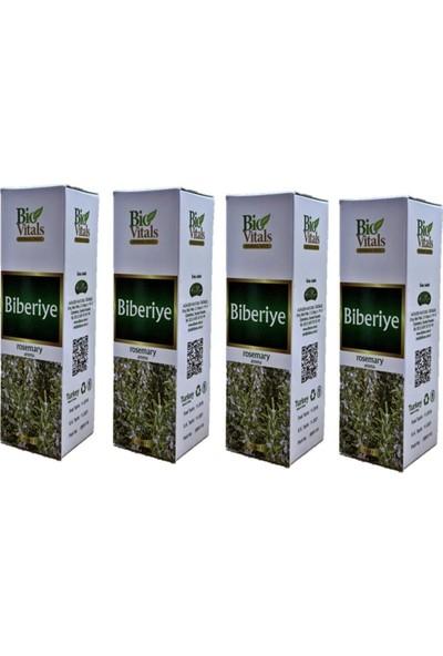 Bio Vitals Biberiye Yağı Yağı 20 ml 4 Adet