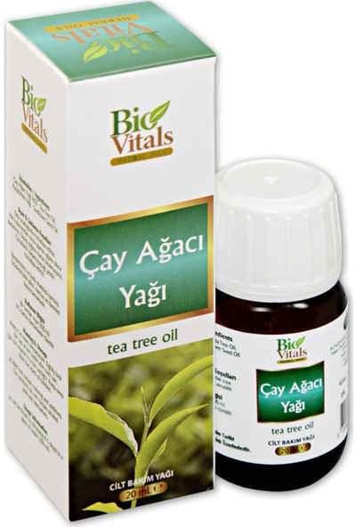 Bio Vitals Çay Ağacı Yağı 20ML - Aromatik Bitkisel Yağ