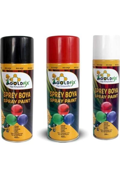 Goldfix Sprey Boya Sarı 400ML