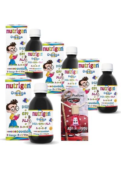 Nutrigen Omega 3 Şurup 200 ml 4 Adet