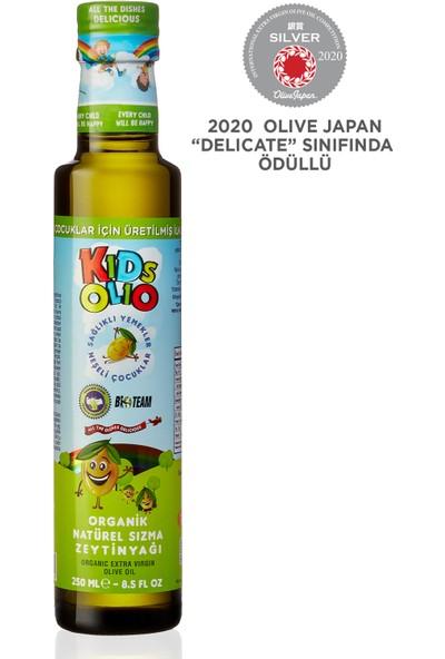 Kıdsolıo Tam Zamanında Hasat Çocuklara Özel Naturel Sızma Zeytinyağı 250 ml