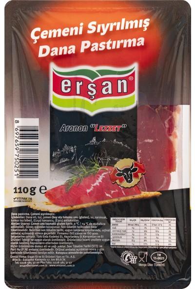 Erşan Et Erşan Çemensiz Pastırma 110 gr