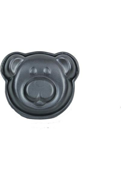 Excellent Houseware 2 Adet Mini Ayıcık Kek Kalıbı 11 cm