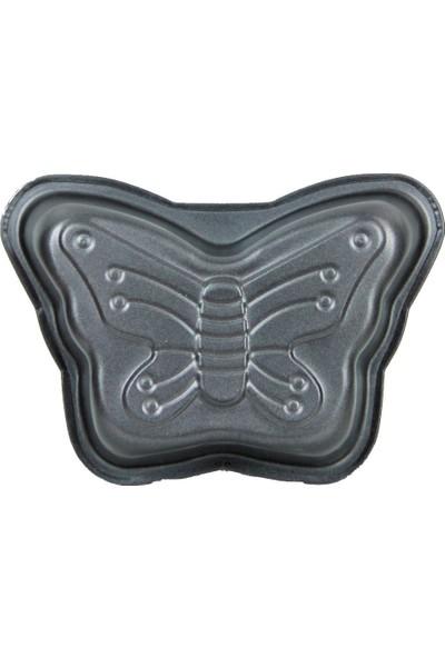 Excellent Houseware 2 Adet Mini Kelebek Kek Kalıbı 13 cm
