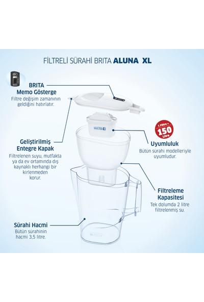 BRITA Aluna XL 3 Filtreli Su Arıtma Sürahisi - Beyaz