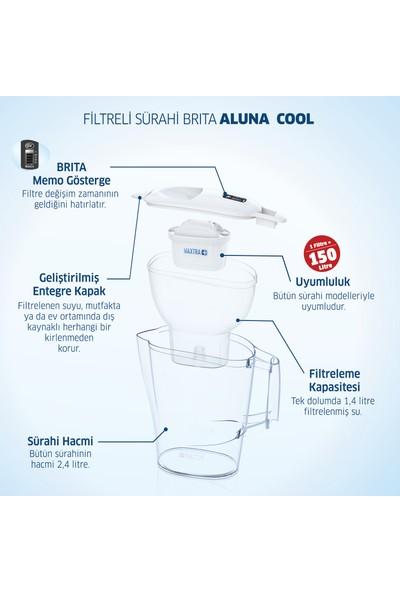 BRITA Aluna Cool 2 Filtreli Su Arıtma Sürahisi - Beyaz