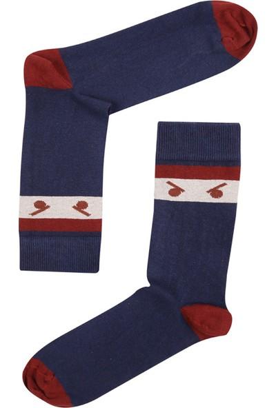 Erkek The Socks Company Ninja Eyes Erkek Çorap 15KDCR119E