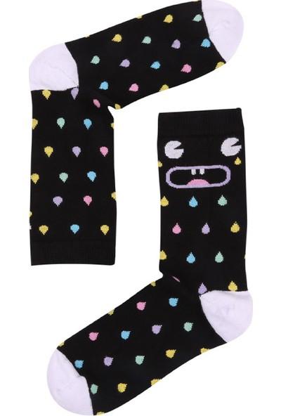 Kadın The Socks Company Crying Colours Kadın Çorap 15KDCR770K
