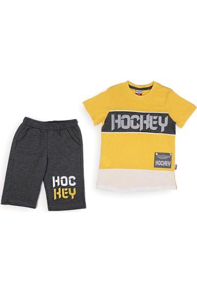 Yavrucak 414 Yavrucak Hockey Baskılı 2li Erkek Takım 5-8 Yaş