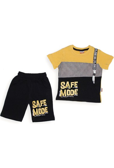 Yavrucak 335 Yavrucak Safe Made Baskılı Fileli 2li Erkek Takım 1-4 Yaş