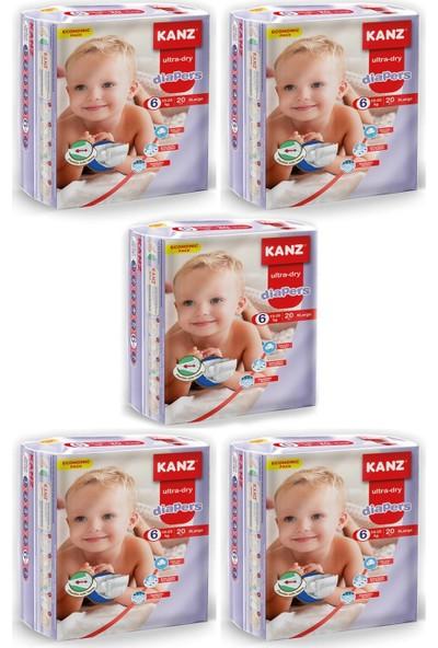 Kanz Ekonomik Paket Bebek Bezi- Xlarge 15 - 25 kg Koli 5 Li