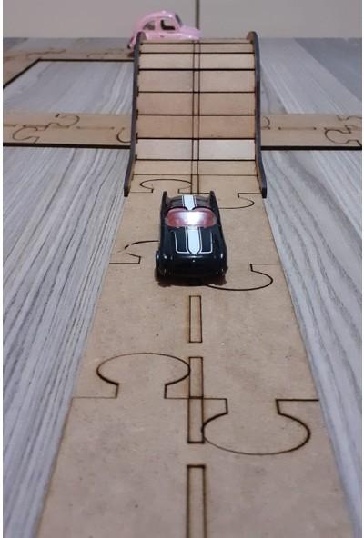 Tsd Dekorasyon Ahşap Oyuncak Araba Yolu