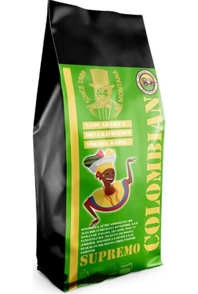 Montana Colombia Supremo Yöresel Kahve Öğütülmüş 250 gr