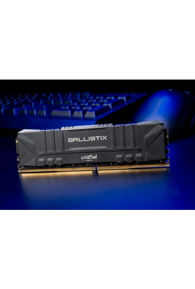 Crucial Ballistix 16GB (2X8GB Kit) Ddr4 2666MHZ Pc Ram CL16 BL2K8G26C16U4B