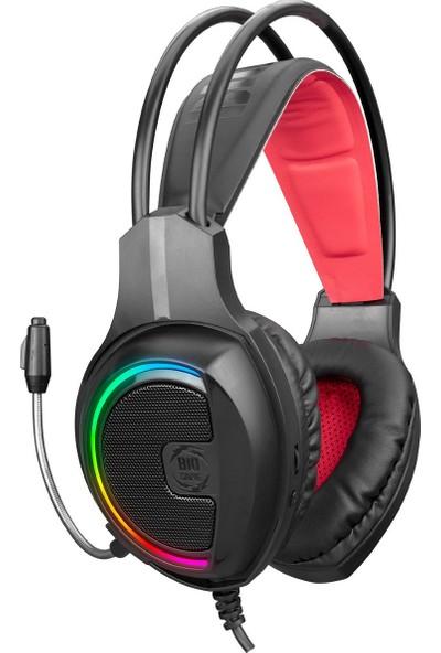 Biogame Bg-H1 Ranger 7.1 USB Rgb Gaming Oyuncu Kulaklık Pc-Ps3-Ps4