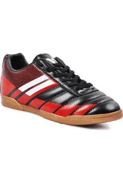 Walkway WLF2323 Siyah-Kırmızı-Beyaz Erkek Futsal Ayakkabı
