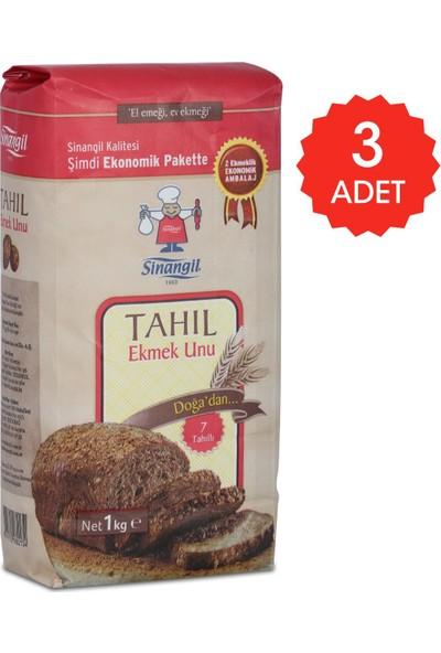 Sinangil Tahıl Ekmek Unu 1 kg x 3'lü