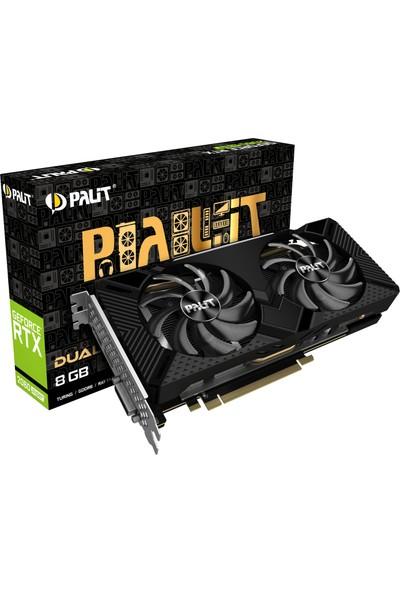 Palit Nvidia Geforce RTX2060 Super Dual 8gb 256BIT (DX12) Pcı-E 3.0 X16 Gddr6 Ekran Kartı NE6206S018P2-1160A-1