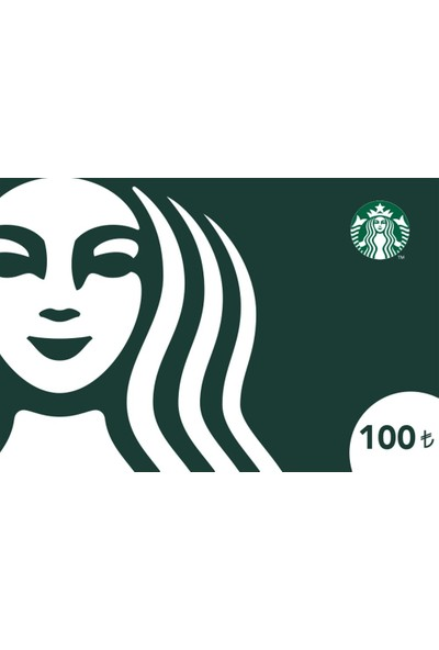 Starbucks® Klasik Hediye Kartı 100TL